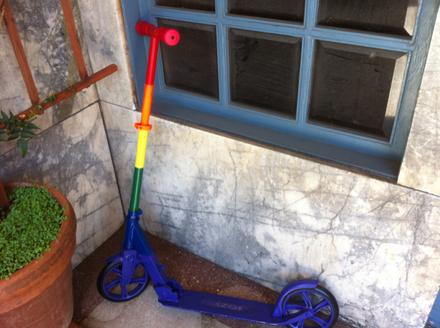 Pride Scooter!