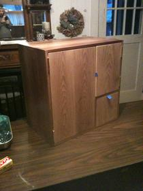 Tansu inspired cabinet